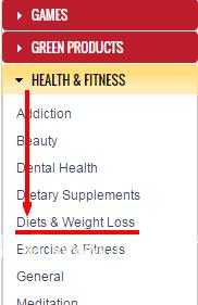 """健康与健身""""这个分类中的利基"""