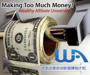 wealthy affiliate赚钱计划