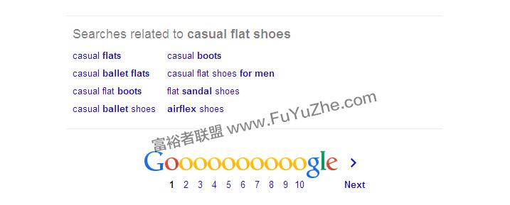 Google女鞋相关搜索
