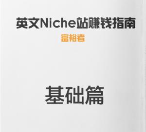 建立有利可图的Niche站基础篇