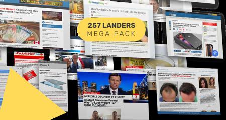 Adplexity官方推荐的257款最赚钱的Pre-Lander着陆页