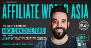 一场现场创意大赛:Nick Shackelford